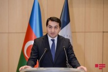 The Assistant to the President of the Republic of Azerbaijan, Hikmat Hajiyev